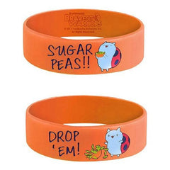 Bravest Warriors Sugar Peas Silicone Bracelet