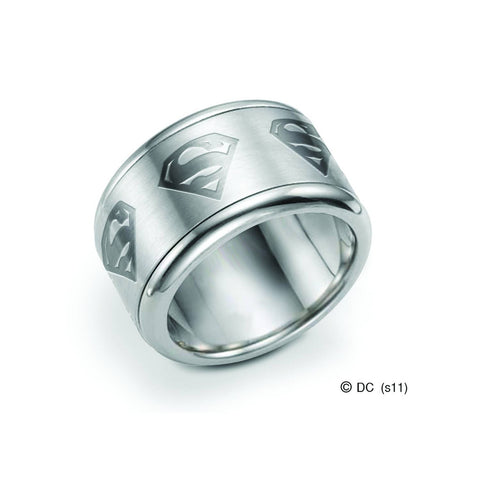 Superman Spinning Ring Size 9