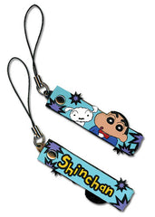 Crayon Shin-chan Shin and Whitey Cell Phone Charm