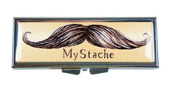 My Stache Moustache Pill Box