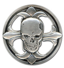 Death Note Skull Belt Buckle