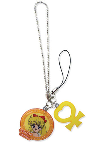 Sailormoon Sailor Venus & Symbol Metal Cellphone Charm