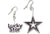 Lucky Star Title and Star Earrings