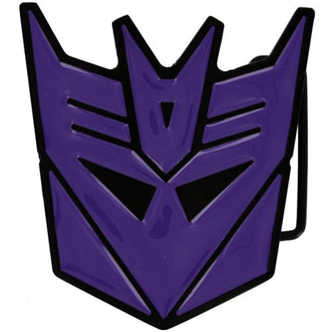 Transformers Decepticon Belt Buckle (Purple)