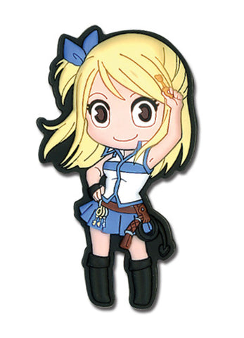 Fairy Tail Lucy Sd Pvc Magnet