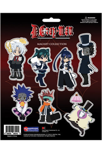 D Gray Man Magnet Collection