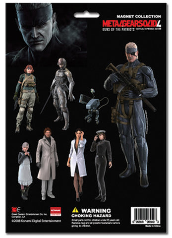 Metal Gear Solid 4 Cutout Characters (CG) Magnet
