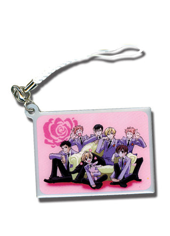 Ouran High School Host Club Group Cell Phone Charm