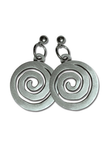 Naruto Shippuden Uzushio Clan Symbol Earrings
