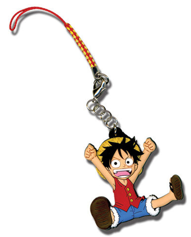 One Piece Chibi Luffy Cell Phone Charm