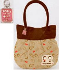 Angry Little Girls: Shoulder Tote Bag