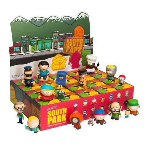 Kidrobot South Park Collectible Mini Figure (1 Blind Box)