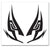 Bleach Renji's Visor Mask Symbol Temporary Tattoo