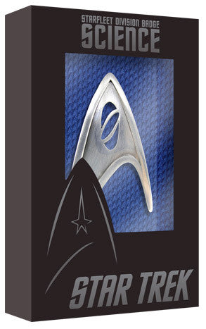 Star Trek Starfleet Science Division Badge Replica