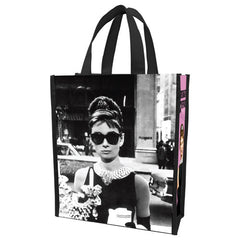 Audrey Hepburn Small Recycled Shopper Tote