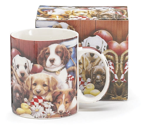 Puppies Ceramic Mug