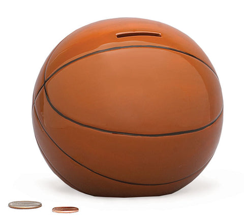 Ceramic Basketball Money Bank