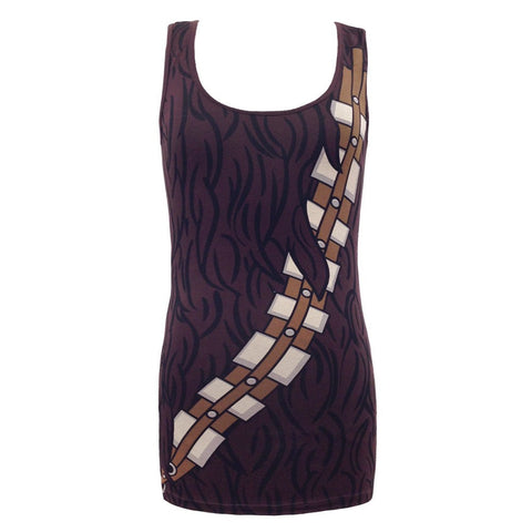 Star Wars I am Chewbacca Costume Tank Dress | M