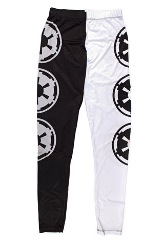 Star Wars Imperial Symbol Two Tone Leggings | XL