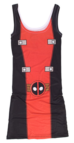Marvel Deadpool Juniors Costume Dress | M