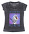 Disney Frozen Olaf Worth Melting For Juniors Heather Black T-Shirt | L