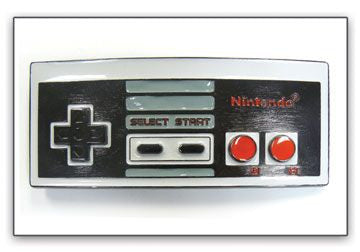 Nintendo Controller Metal Belt Buckle