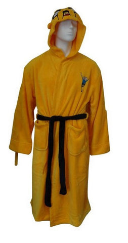 Adventure Time Jake Hooded Robe - One Size