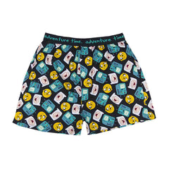 Adventure Time Beemo, Finn & Jake All Over Boxer Shorts | M