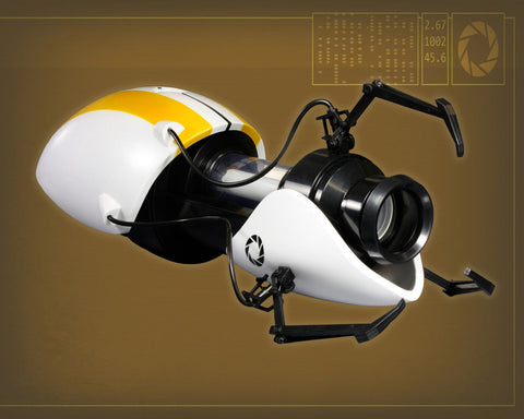 Portal Aperture Science Handheld Portal Device Prop Replica - P-Body Version