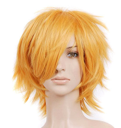 Strawberry Blonde Short Length Anime Cosplay Costume Wig