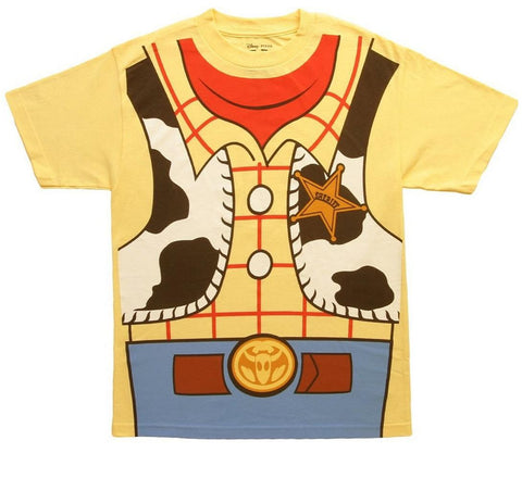Disney Toy Story I Am Woody Mens Costume T-Shirt | XXL