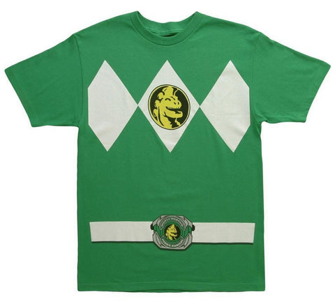 Mighty Morphin Power Rangers Green Ranger Mens T-Shirt | XXL