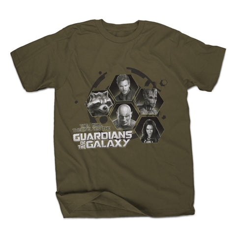 Marvel Guardians Of The Galaxy They Call Themselves Mens Green T-Shirt | XXL