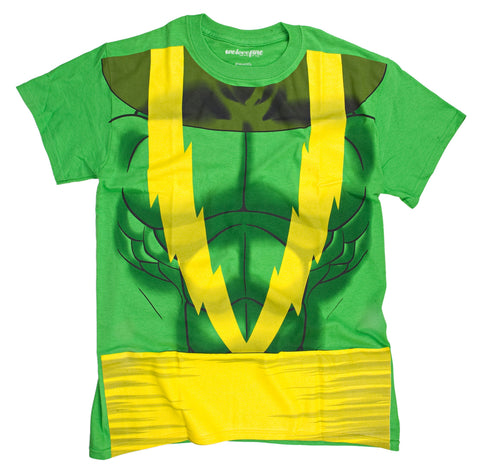 Marvel I Am Electro Mens Costume T-Shirt | XXL