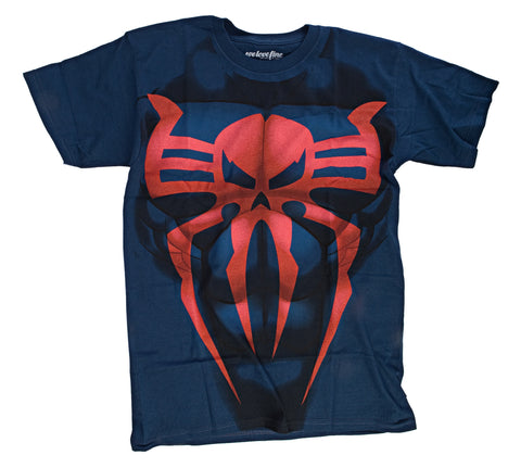 Marvel I Am Spider-Man Mens Costume T-Shirt | XXL