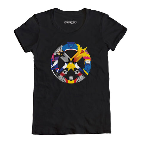 Marvel X-Men United Mens Black T-Shirt | XXL