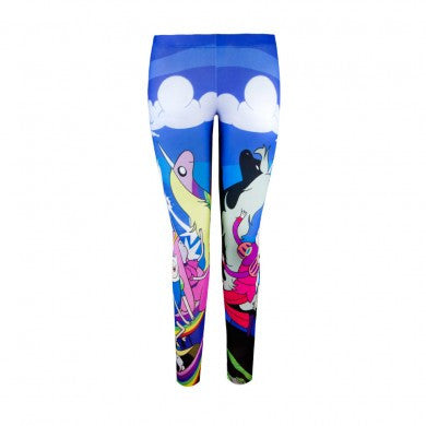 Adventure Time Parallel Skies Leggings | L