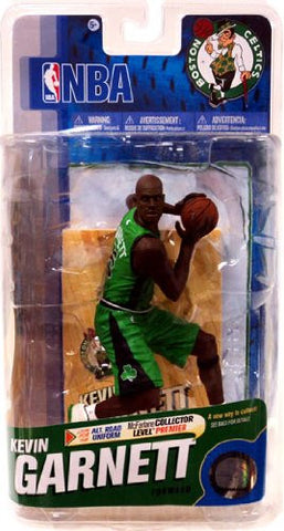 McFarlane Toys NBA Sports Picks Series 18 Action Figure Kevin Garnett (Boston Celtics) Green Uniform with Black Logos Bronze Collector Level Chase