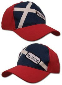 My-Hime: My-Hime Logo Red Baseball Cap