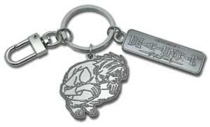 Death Note: Crouched L Metal Key Chain