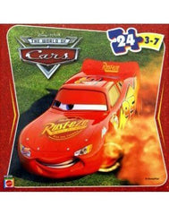 Disney Pixar Cars 2 Lightning McQueen in Dust 24 Piece Jigsaw Puzzle
