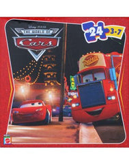 Disney Pixar Cars 2 Mack and Lightning 24 Piece Jigsaw Puzzle