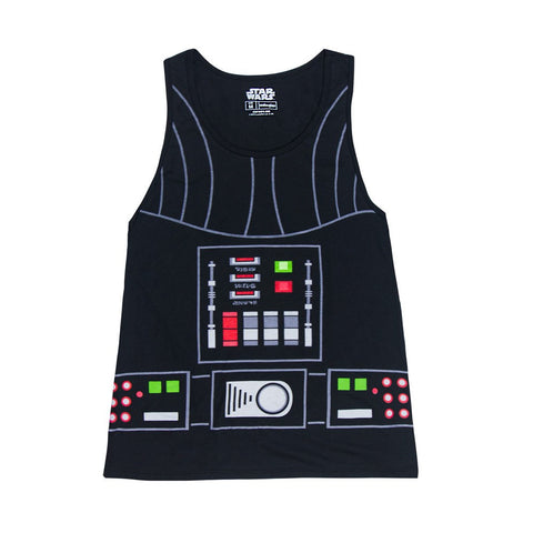 Star Wars I Am Darth Vader Mens Lightweight Black Tank Top Shirt | M