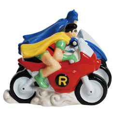 Batman & Robin Salt & Pepper Shakers