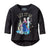 Disney Frozen Let It Go Trio Juniors 3/4 Sleeve T-Shirt | XL