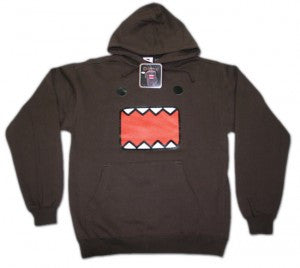 Domo-kun Hooded Sweatshirt Sweater | M