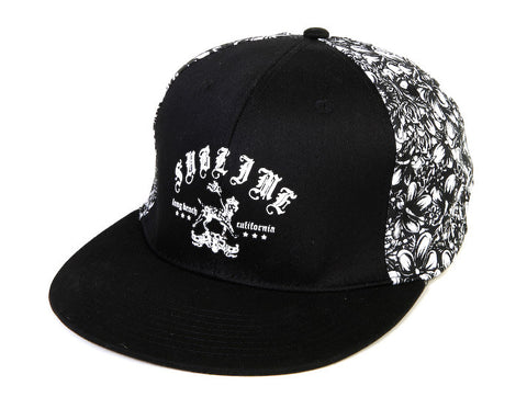 Sublime Embroidered Flex Fit Baseball Cap