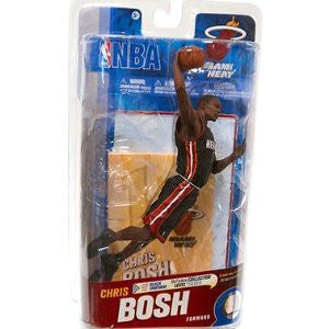 NBA Series 19 Chris Bosh - Miami Heat Black Jersey Silver Level Variant Action Figure