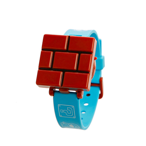 Nintendo New Super Mario Bros. Wii Children's Watch - Brick Block
