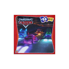 Disney Pixar Cars 2 Night Chase 24 Piece Jigsaw Puzzle